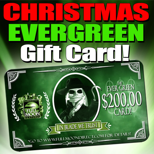 $200 Christmas Evergreen EXECUTIVE PRODUCER Card ($600 of credit for only $200)