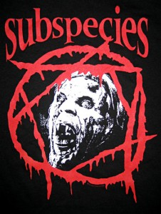 Shirts Coming Back By Popular Demand: Puppet Master, Subspecies, Full Moon Logo