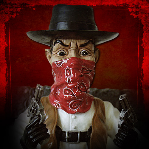 Finally! Puppet Master Limited Edition Resin Statues: Six Shooter &#038; Pinhead