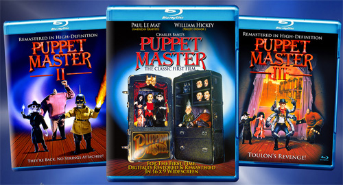 Puppet Master 1,2,3 Coming to Blu-Ray! Full Remastered transfers in 16:9 and 5.1