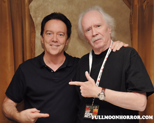 Flashback Weekend with Charles Band with John Carpenter, Jeffrey Combs, Barbara Crampton, Richard Band, plus pics!
