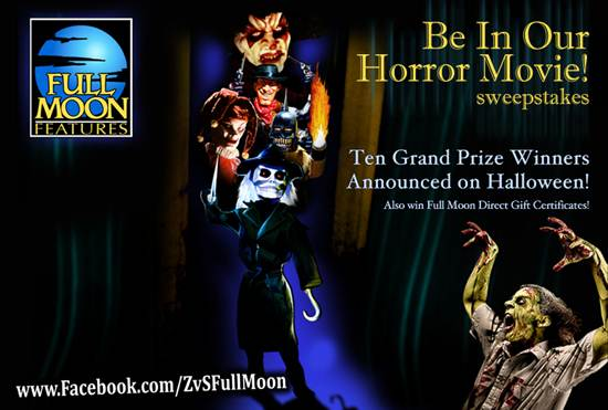 Win a Role in Our Horror Movie!