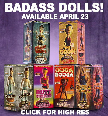 Badass Dolls! Collect Them All!
