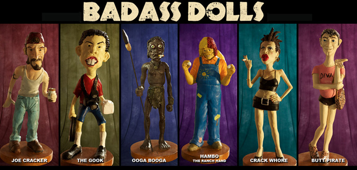 "Full Moon's Infamously Offensive ""Badass Dolls"" Now Available"